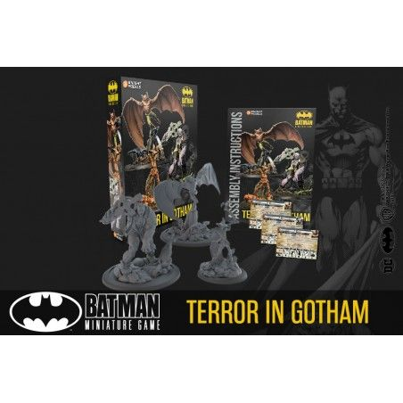 BATMAN MINIATURE GAME - TERROR IN GOTHAM MINI RESIN STATUE FIGURE