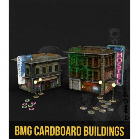 BATMAN MINIATURE GAME - SCENARY CARDBOARD BUILDINGS