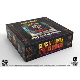 GUNS-N-ROSES APPETITE FOR DESTRUCTION 3D VINYL 30CM RESIN REPLICA