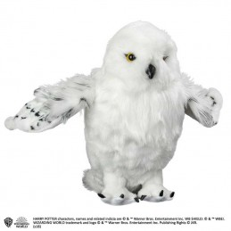 NOBLE COLLECTIONS HARRY POTTER - HEDWIG POSEABLE WINGS PELUCHE PLUSH 35 CM