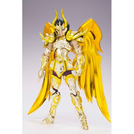 SAINT SEIYA MYTH CLOTH EX SOUL OF GOLD SHURA CAPRICORN GOLD ACTION FIGURE