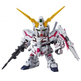 SD RX-0 UNICORN GUNDAM DESTROY MODE MODEL KIT ACTION FIGURE BANDAI