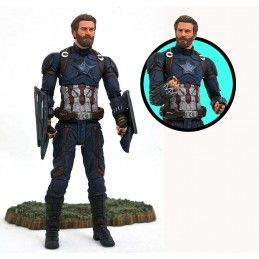 MARVEL SELECT AVENGERS 3 CAPTAIN AMERICA ACTION FIGURE DIAMOND SELECT
