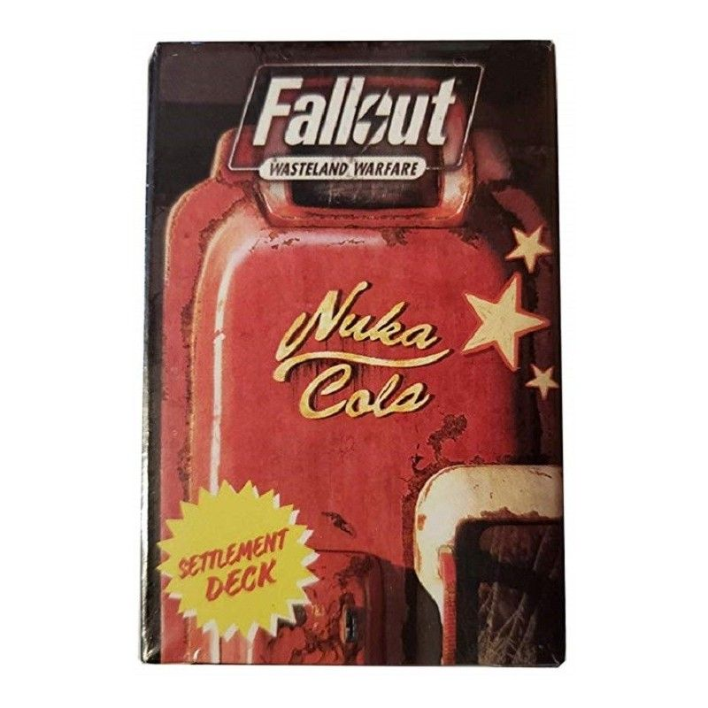 FALLOUT WASTELAND WARFARE - EXPANSION SETTLEMENT DECK CARDS