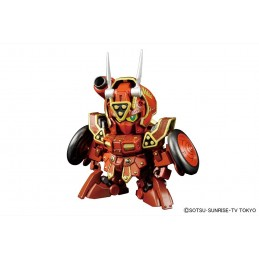 SDBF RED WARRIOR KURENAI MUSHA AMAZING MODEL KIT ACTION FIGURE BANDAI