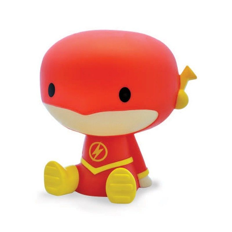 THE FLASH CHIBI BANK SALVADANAIO FIGURE PLASTOY
