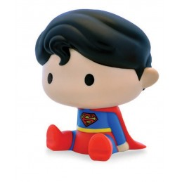 SUPERMAN CHIBI BANK SALVADANAIO FIGURE PLASTOY