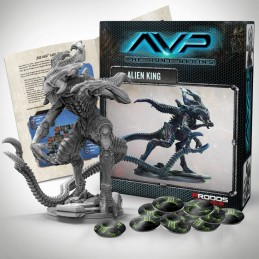 AVP THE HUNT BEGINS - ALIEN KING SET EXPANSION FIGURE