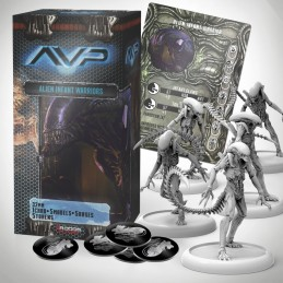 AVP THE HUNT BEGINS - ALIEN INFANT WARRIORS SET EXPANSION FIGURE