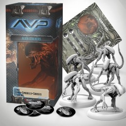 AVP THE HUNT BEGINS - ALIEN STALKERS SET EXPANSION FIGURE