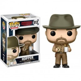 FUNKO POP! STRANGER THINGS - HOPPER 512 BOBBLE HEAD KNOCKER FIGURE