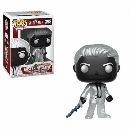 FUNKO POP! MARVEL SPIDER-MAN - MISTER NEGATIVE BOBBLE HEAD KNOCKER FIGURE