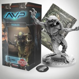 AVP THE HUNT BEGINS - PREDALIEN UNICAST SET EXPANSION FIGURE