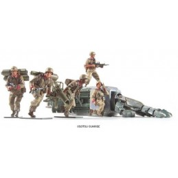 U.C. HARD GRAPH EFGT ANTI MS SQUAD 1/35 MODEL KIT FIGURE BANDAI