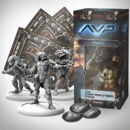 AVP THE HUNT BEGINS - PREDATORS SET EXPANSION FIGURE PRODOS GAMES