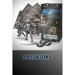AVP THE HUNT BEGINS - PREDATORS SET EXPANSION FIGURE