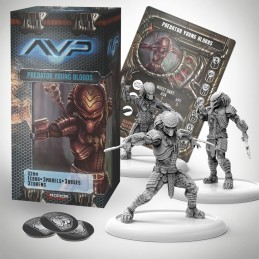 AVP THE HUNT BEGINS - PREDATOR YOUNG BLOODS SET EXPANSION FIGURE
