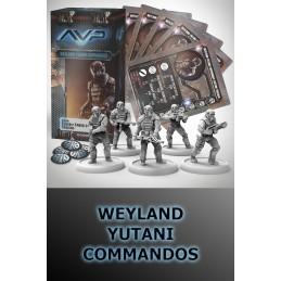 AVP THE HUNT BEGINS - WEYLAND YUTANI COMMANDOS SET EXPANSION FIGURE