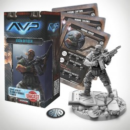 AVP THE HUNT BEGINS - USCM OFFICER UNICAST SET EXPANSION FIGURE