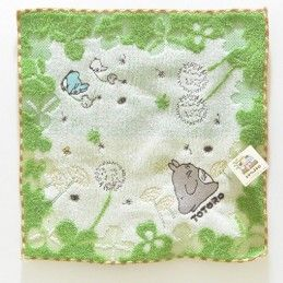 TOTORO GRASS STUDIO GHIBLI MINI TOWEL ASCIUGAMANO SEMIC