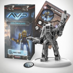 AVP THE HUNT BEGINS - USCM POWERLOADER SET EXPANSION FIGURE
