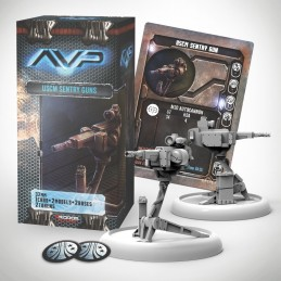 AVP THE HUNT BEGINS - USCM SENTRY GUNS SET EXPANSION FIGURE