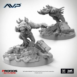 AVP THE HUNT BEGINS - PREDATOR HELLHOUNDS UNICAST SET EXPANSION FIGURE