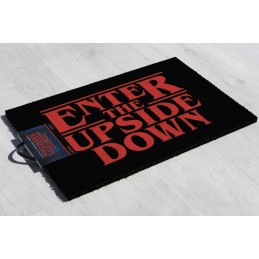 STRANGER THINGS ENTER THE UPSIDE DOWN DOORMAT ZERBINO 40X60CM PYRAMID INTERNATIONAL