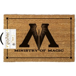 HARRY POTTER MINISTRY OF MAGIC DOORMAT ZERBINO 40X60CM