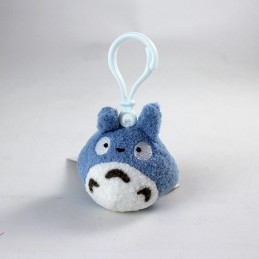 TOTORO BLUE BACKPACK CLIP PLUSH PELUCHE PORTACHIAVI