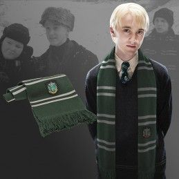 HARRY POTTER SLYTHERIN SCARF SCIARPA SERPEVERDE CINEREPLICAS