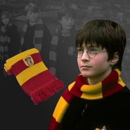 HARRY POTTER GRYFFINDOR RED SCARF SCIARPA ROSSA GRIFONDORO CINEREPLICAS