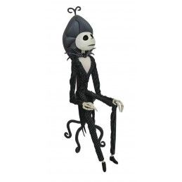 THE NIGHTMARE BEFORE CHRISTMAS - JACK COFFIN IN CHAIR DOLL ACTION FIGURE