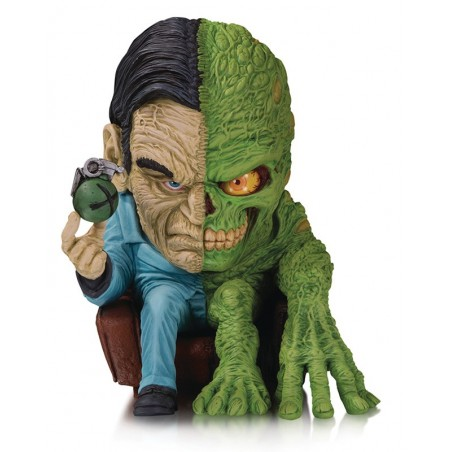 DC ARTISTS ALLEY - TWO FACE BY JAMES GROMAN FIGURE 19CM STATUE