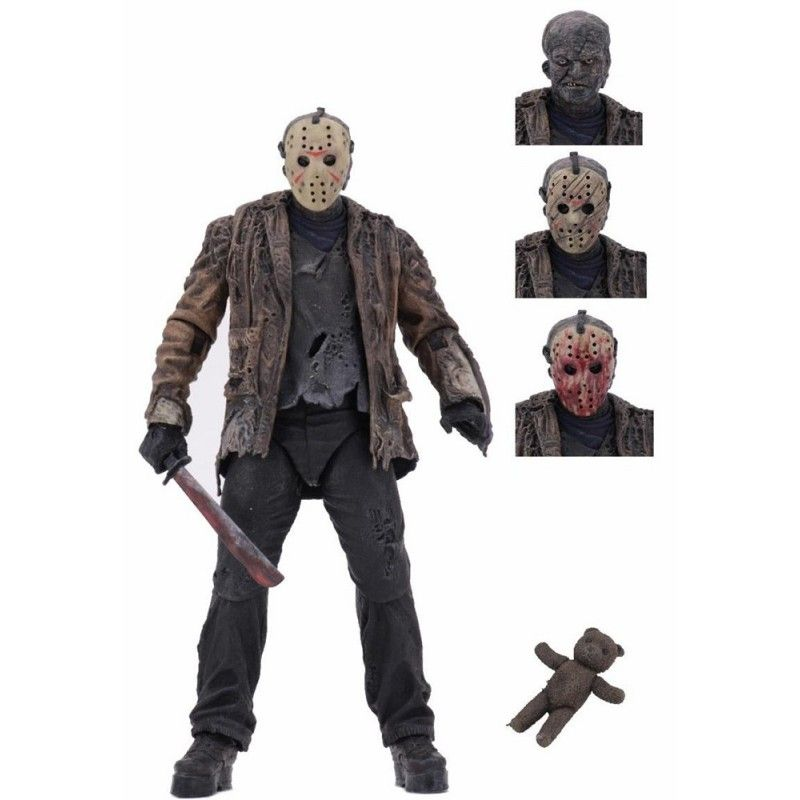 FREDDY VS JASON - ULTIMATE JASON VOORHEES ACTION FIGURE NECA