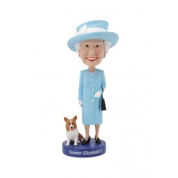 QUEEN ELIZABETH II HEADKNOCKER BOBBLE HEAD ACTION FIGURE