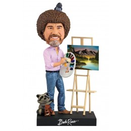 BOB ROSS HEADKNOCKER BOBBLE HEAD FIGURE