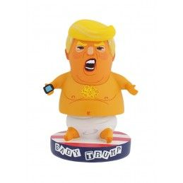 BABY TRUMP HEADKNOCKER BOBBLE HEAD FIGURE