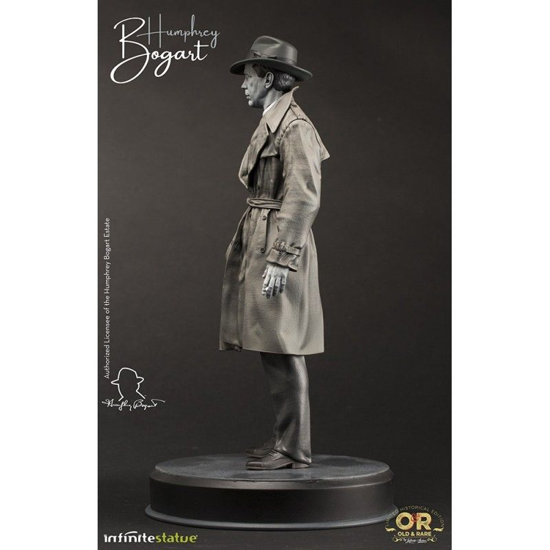 HUMPHREY BOGART OLD AND RARE STATUE RESIN FIGURE 30 CM INFINITE STATUE