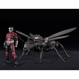 BANDAI ANT-MAN AND THE WASP - ANT-MAN AND ANT S.H. FIGUARTS ACTION FIGURE