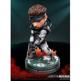 METAL GEAR SOLID SNAKE SUPERDEFORMED 20 CM PVC STATUE FIGURE FIRST4FIGURES