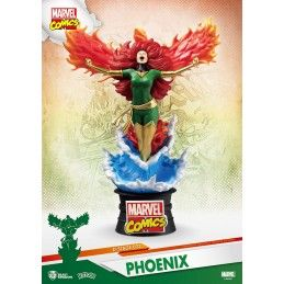 MARVEL COMICS X-MEN DARK PHOENIX D-SELECT 16CM STATUE FIGURE BEAST KINGDOM