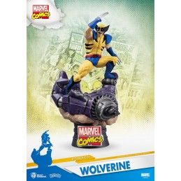 MARVEL COMICS X-MEN WOLVERINE D-SELECT 16CM STATUE FIGURE BEAST KINGDOM