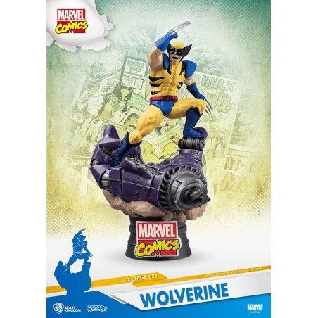 MARVEL COMICS X-MEN WOLVERINE D-SELECT 16CM STATUE FIGURE