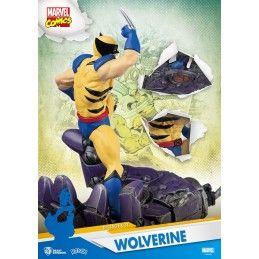 MARVEL COMICS X-MEN WOLVERINE D-SELECT 16CM STATUE FIGURE BEAST KINGDOM