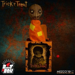 BURST A BOX - TRICK R TREAT SAM FIGURE
