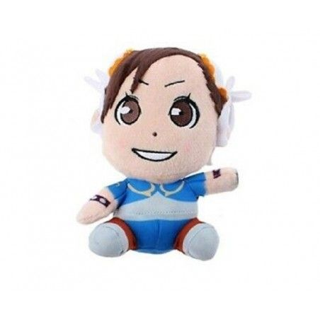 STREET FIGHTER CHUN-LI PUPAZZO PELUCHE 16CM PLUSH FIGURE
