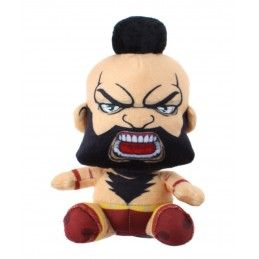 STREET FIGHTER ZANGIEF PUPAZZO PELUCHE 16CM PLUSH FIGURE GOSH