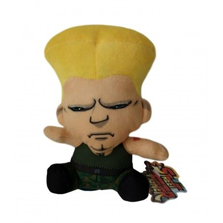 STREET FIGHTER GUILE PUPAZZO PELUCHE 16CM PLUSH FIGURE