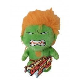 CAPCOM STREET FIGHTER BLANKA PUPAZZO PELUCHE 16CM PLUSH FIGURE
